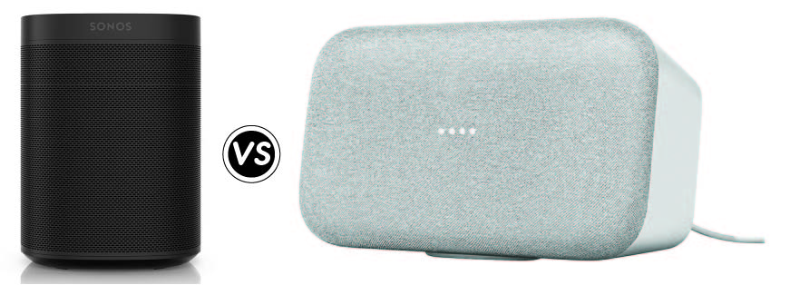 Google Home Max vs. Sonos One: Which One Is Right For You?