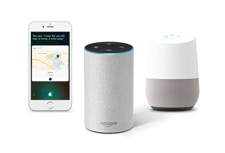 Using Tile in Your Smart Home with Google Home or Amazon Echo