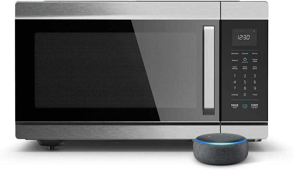 Cooking with Alexa: Amazon Heats Up the Smart Microwave Scene with New Offering